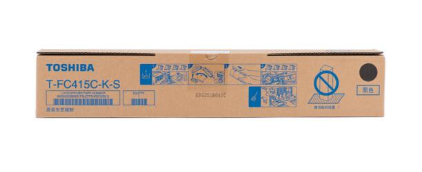 东芝T-FC415C原装粉盒 墨粉 墨盒 碳粉 硒鼓适用2010/3015/3515/4515AC 黑色低容T-FC415C-K-S(125克) 原装