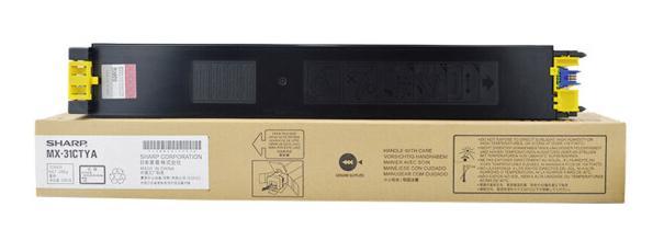 夏普(SHARP)MX-31CTYA黄色墨粉盒 15K(适用MX2600/3100/2601/3101/4101/5001机型)