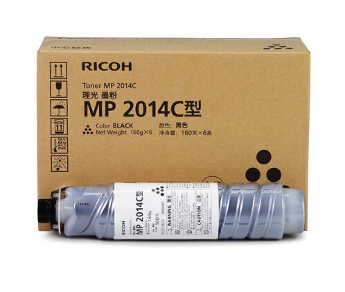 理光(Ricoh) MP 2014C/HC型黑色墨粉碳粉2014/D/AD/EN原装粉盒 MP 2014C小容量 1只