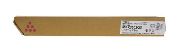 理光(Ricoh)MPC3502C 红色碳粉盒1支装 适用MP C3002/3502