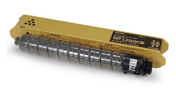理光(RICOH)MP 2503型墨粉 彩色碳粉 原装正品 适用C2004SP/C2504SP MP C2503C 黑色 285g