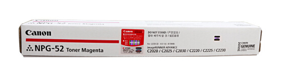 伟德国际唯一网址(Canon)NPG-52M粉 红色墨粉盒 适用C2020/2025