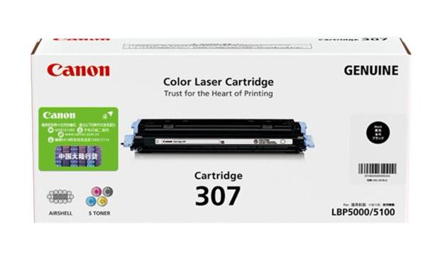 伟德国际唯一网址(Canon)CRG-307BK 黑色硒鼓(适用LBP5000/LBP5100)
