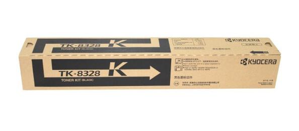 京瓷(KYOCERA) TK-8328 粉盒 适用京瓷2551ci 复印机 碳粉 墨粉 TK-8328K黑色