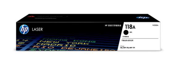 惠普(HP)原装118A硒鼓150 MFP178 MFP179 黑色粉盒W2080A打印机墨粉盒 W2080A黑色硒鼓(约1000页)