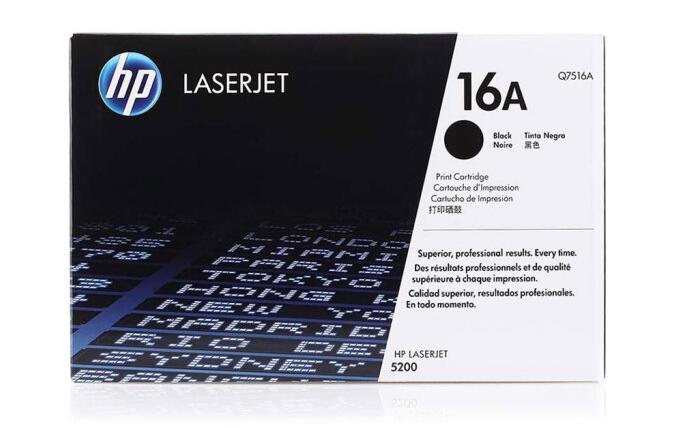 惠普(HP)LaserJet Q7516A 黑色硒鼓 16A( 适用于惠普HP 5200/5200n/5200LX)