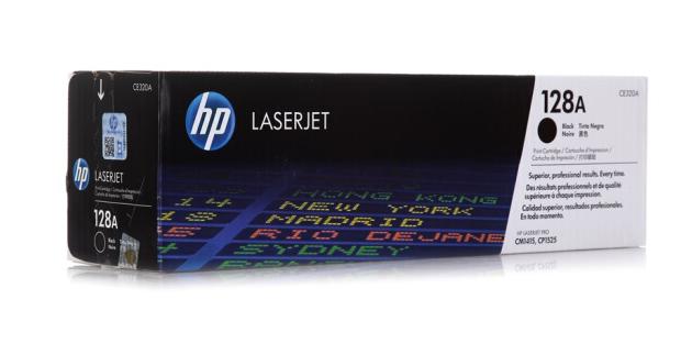 惠普(HP)CE320A 黑色硒鼓 128A(适用CM1415fn/fnw CP1525n)