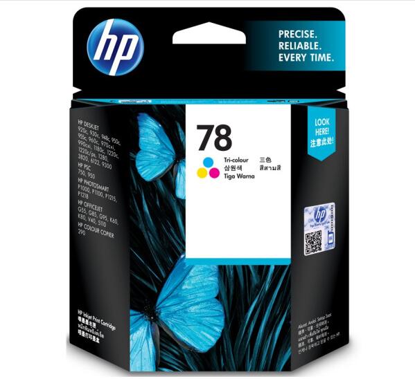 惠普(HP)C6578D 78号彩色墨盒(适用PSC750 Officejet5110 v40)