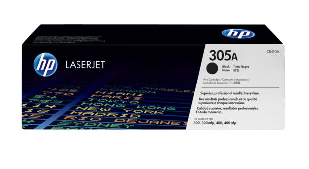惠普(HP) CE410A 305a 硒鼓 适用M351a/M451dn/375NW/475原装硒鼓 CE410A 黑色硒鼓 约2200页