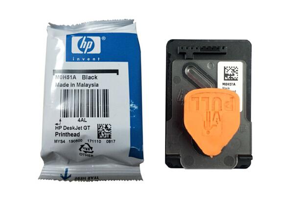惠普原装gt53墨水黑色gt52墨水彩色gt5810 gt5820 310410 打印机墨盒填充 GT51黑色打印头