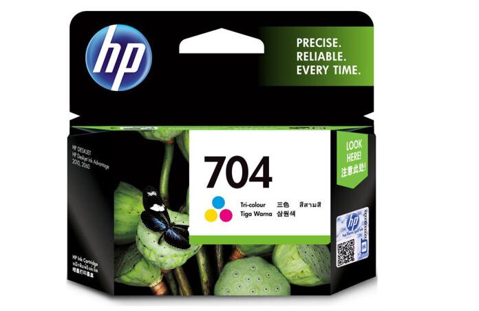 惠普(HP)CN693AA 704号彩色墨盒(适用Deskjet 2010 2060 )