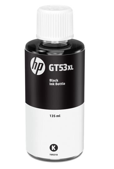 惠普 HP 1VV21AA GT53XL 黑色墨水瓶(适用于HP INK Tank 310 410 319 419 318 418)