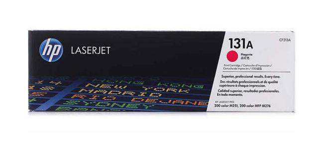 惠普(HP) CF213A 品红色硒鼓 131A (适用LaserJet M251n/M276fn/M276fnw)
