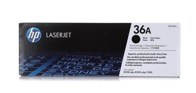 惠普(HP)LaserJet CB436A黑白硒鼓 36A(适用LaserJet M1120 M1522nf P1505 P1505N)