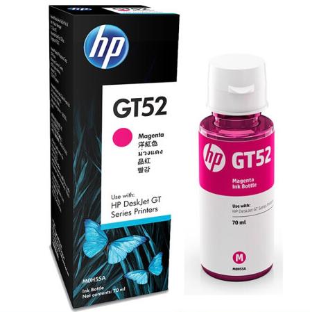 惠普(HP)GT53XL/52 原装墨水适用于HP GT5810/5820/310/410/419 GT52品红单支(约8000页)