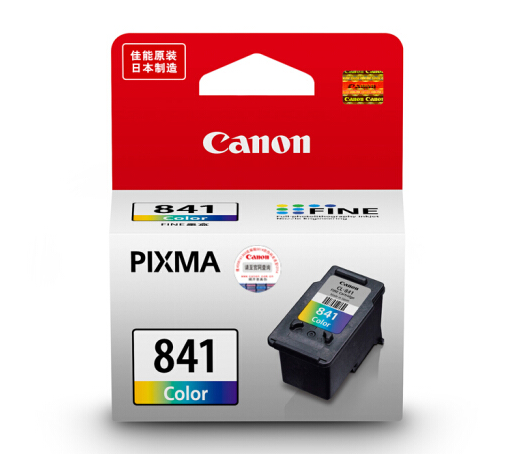 伟德国际唯一网址(CANON) PG840/CL841墨盒原装MX538MX458MX478MG3680打印机 标准装CL-841彩色(约180页)
