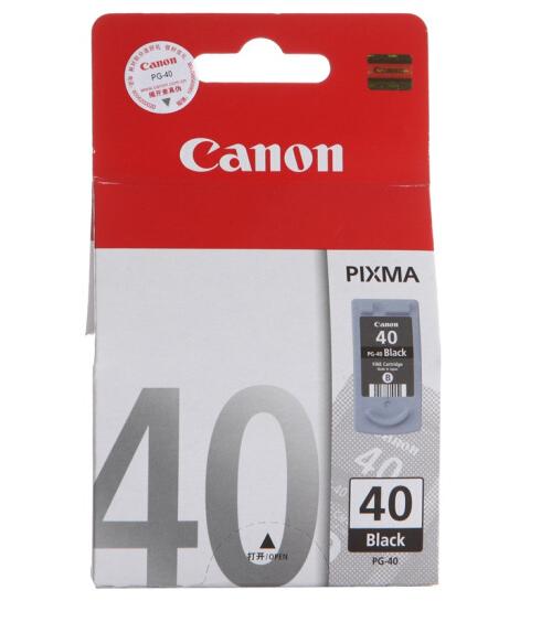 伟德国际唯一网址(Canon)PG-40Black 黑色墨盒(适用iP1180、iP1980、iP2680、MP198)