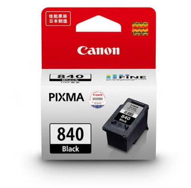 伟德国际唯一网址(CANON) PG840/CL841墨盒原装MX538MX458MX478MG3680打印机 标准装PG-840黑色(约180页)