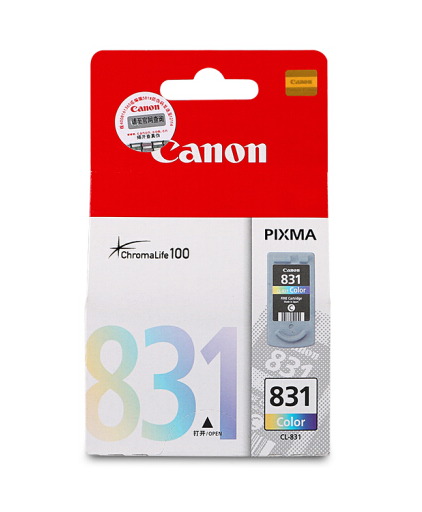 伟德国际唯一网址(CANON) PG-830/40黑色彩色墨盒1180 1980 2680 198打印机 CL-831 彩色