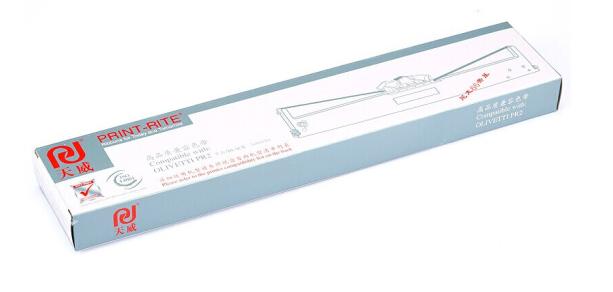 天威(PrintRite)服务版 色带芯 DPK800 适用于FUJITSU-DPK800-10m,12.7mm-黑色BK左扭芯