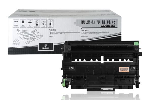 联想(lenovo) LD2822 黑色硒鼓(适用于LJ2200 2200L 2250 2250N打印机)