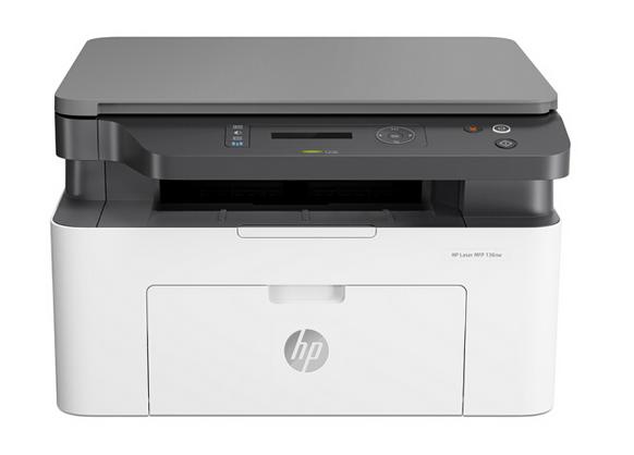 惠普 (HP) 136nw 锐系列新品激光多功能一体机 三合一 打印复印扫描 M1136