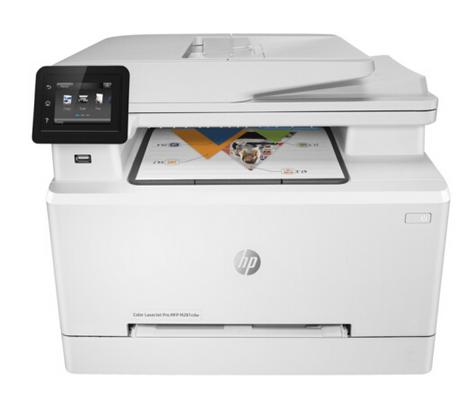 惠普打印机 M281FDW彩色激光A4 四合一